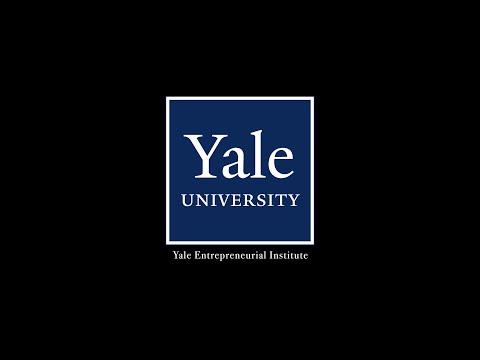 Follis speaks at the Yale Entrepreneur Institute.