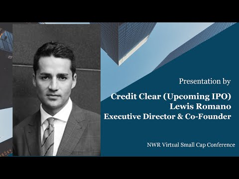 Credit Clear Presentation – NWR Virtual Small Cap Investor Conference, Series 4