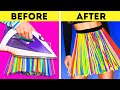 DIY RECYCLING PROJECTS    COLORFUL STRAW, PLASTIC AND CLOTHES HACKS