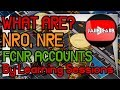 NRO NRE FCNR Accounts in details and difference Principles and Practices of Banking JAIIB