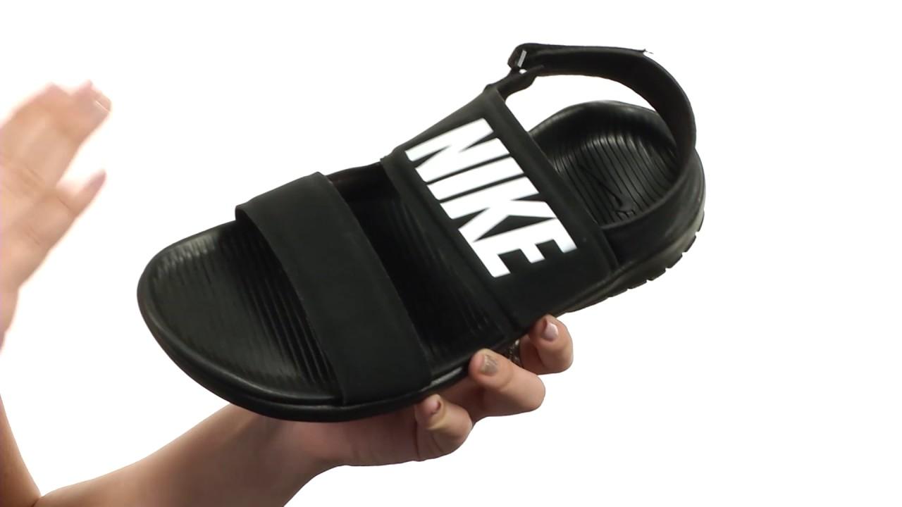 4b6296f46fd4 Nike Tanjun Sandal SKU 8781961 - YouTube