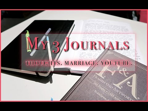 Journals & my YouTube Journey | NEW LIFE