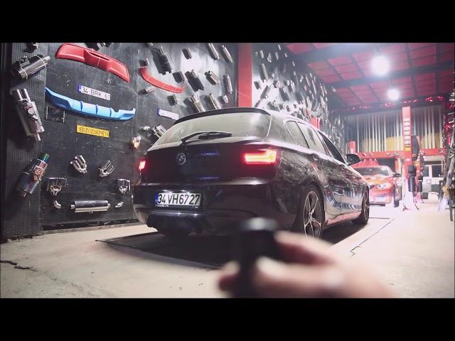 BMW F20 1.16 KUMANDALI VAREX EGZOZ SESİ