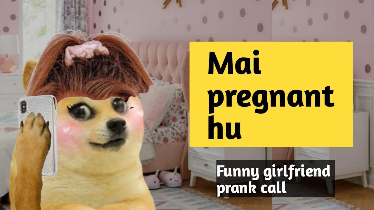 Mai pregnant hu - Girlfriend prank call - Thanos Doge -  © RJ NAVED -