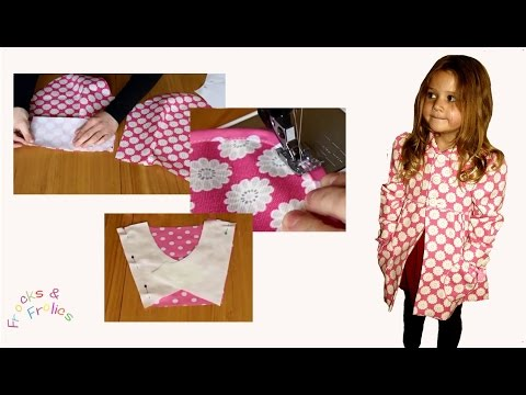 Sewing Pattern - Classic Girl' Coat - How to Sew - Part 2