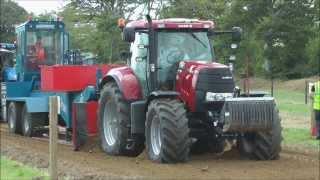 Very big Tractors pulling @ Fingal show 2013