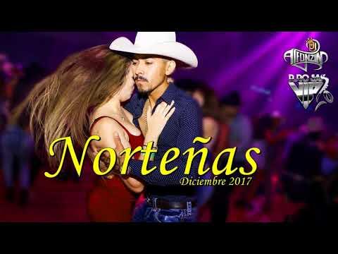 """Norteñas Mix 2017 Diciembre """"Lo más nuevo Bailando Norteñas"""" DjAlfonzin"""