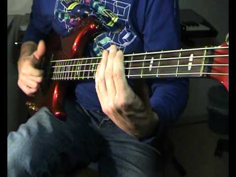 The Commodores - Brick House - Bass Cover