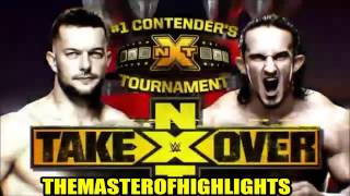 WWE NXT Takeover Rival Highlights HD