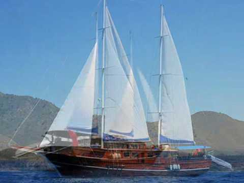 Charter gulet A Candan in Turkey.wmv
