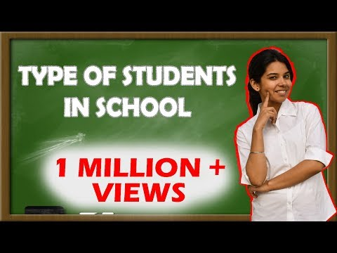 Types of Students in School   Re-live Your School Days   The Half-Ticket Shows