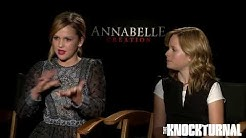 Cast Talks Bringing 'Annabelle: Creation' To Life
