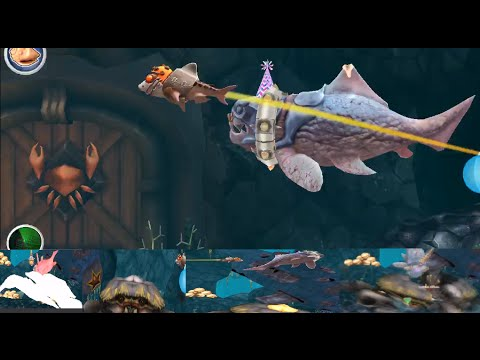 Trials Frontier Shark + Big Daddy vs Giant Crab