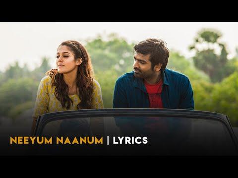 Neeyum Naanum Lyric Video - Naanum Rowdy Dhaan