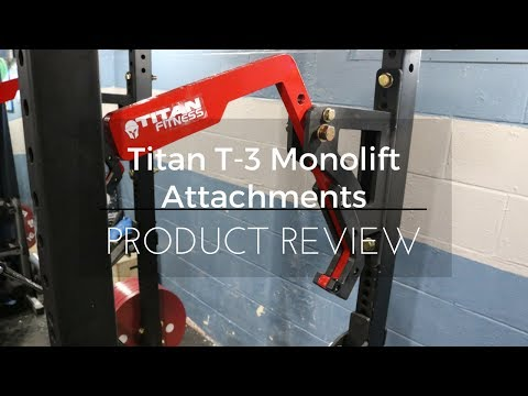 Titan Fitness:  T-3 Monolift Review & Competition Bench Press
