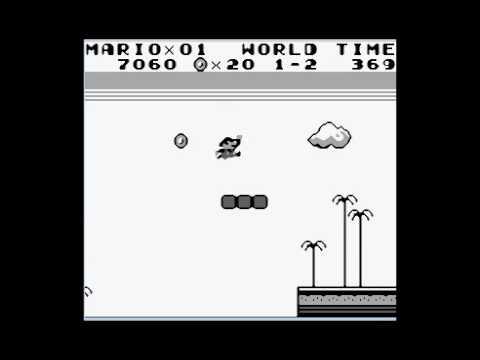 Super Mario Land - Speedrun Level 1 - 2 [364]