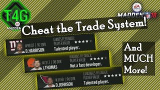 ✔️  Cheating The Trade System in Madden 18 (Go Green)