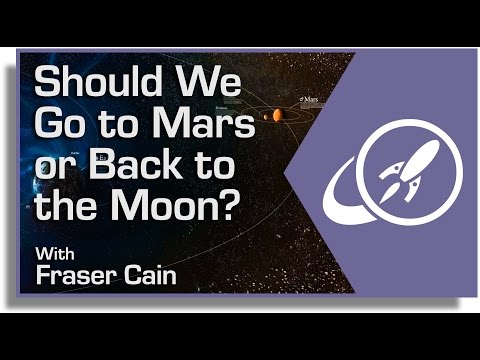 Should We Go to Mars or Back to the Moon? Choosing the Next Target for Human Exploration