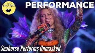 Seahorse Performs Unmasked | Season 4 - THE MASKED SINGER