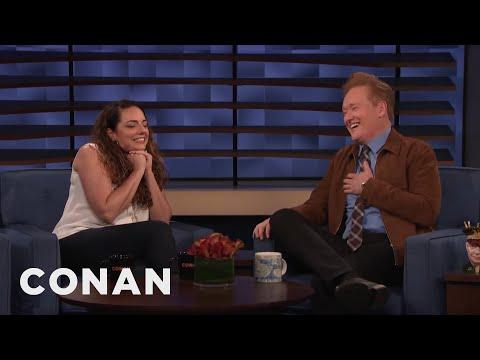 Conan Interviews His Assistant Sona Movsesian - CONAN on TBS