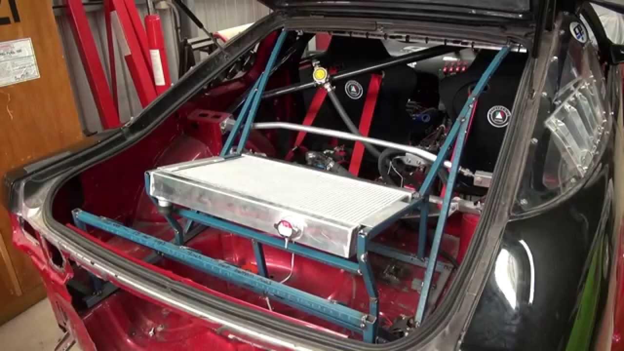 180sx Drift Car Rear Radiator Build Part 4 Youtube