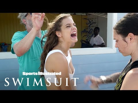 Barbara Palvin Goes Wild, Shows You Her 'Sandy Cheeks' | Outtakes | Sports Illustrated Swimsuit