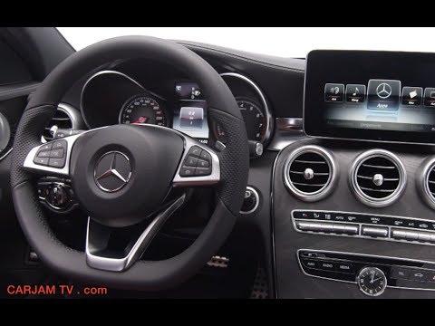 2015 mercedes c class wagon interior video c250 c300 w205 commercial carjam tv 2014 funnydog tv - 2014 mercedes c class interior ...