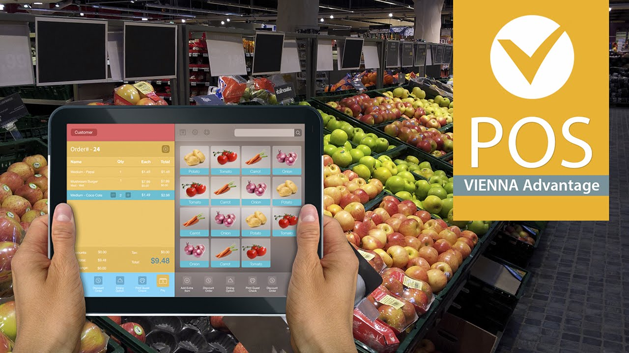 Retail Point Of Sale Software Vienna Advantage Pos