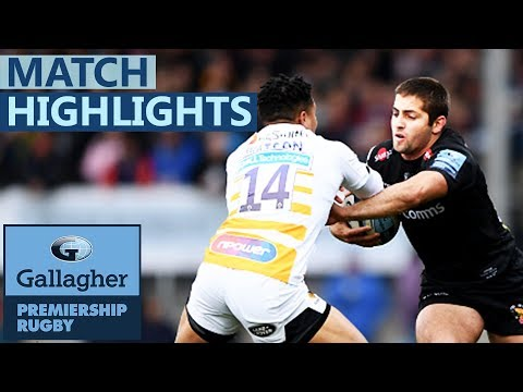 Exeter 19-26 Wasps | Exeter Slump To First Home League Defeat | Gallagher Premiership - Highlights