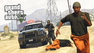 GTA 5 PC Mods - PLAY AS A COP MOD #17! GTA 5 PRISONERS Police Mod Gameplay! (GTA 5 Mod Gameplay)