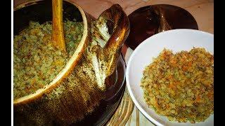 Гречка с овощами в горшочке в духовке Разгрузочный день