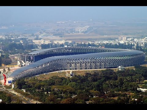 DRAGON STADIUM in Kaohsiung, Taiwan - The Solar-Powered