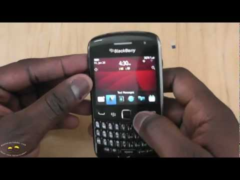 Verizon BlackBerry Curve 9370 Unboxing & First Impressions