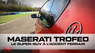 [MASERATI TROFEO] Le Super-SUV à l'accent Ferrari - Les essais SUPERCAR de V6