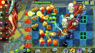 Plants vs Zombies 2 Far future Day 26 27 28 Android iPad/iOS Gameplay HD