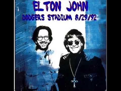 "ELTON JOHN ""DODGER STADIUM"" 8/29/92"