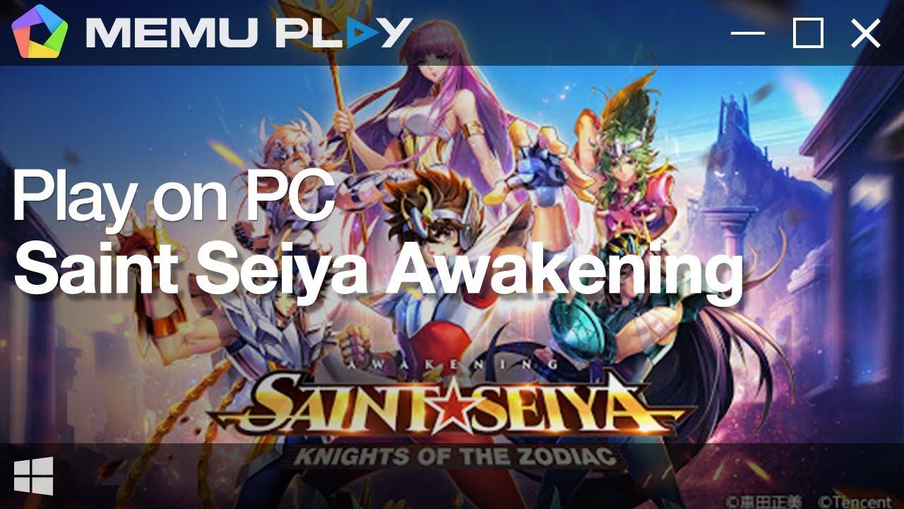 Download and Play Saint Seiya : Awakening on PC
