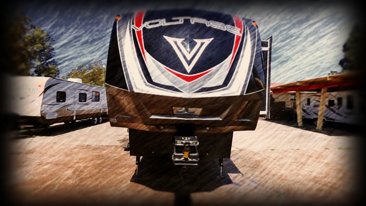 5Th Wheel Trailer >> Full Body Paint Dutchman Voltage V3895 5th Wheel Toy ...