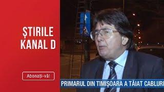 Stirile Kanal D (19.03.2019) - Primarul din Timisoara a taiat cablurile aeriene! Editie CO ...