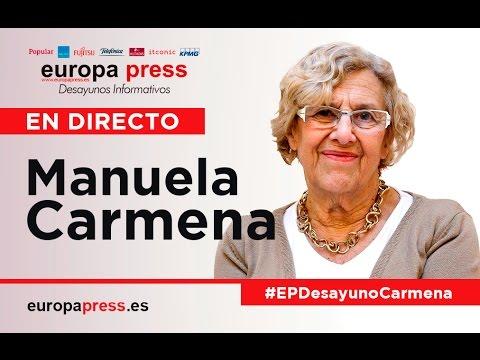 Desayunos Informativos    Manuela Carmena