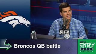 Broncos' QB Battle Affects Value Of Demaryius Thomas And Emmanuel Sanders   Fantasy Focus   ESPN