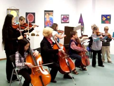 Marshall, MN Suzuki Violin and Cello Students