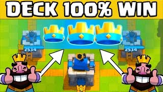 Full video clash royale fr le meilleur deck pour monter for Clash royale meilleur deck arene 7