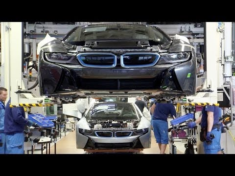 ► The BMW i8 Production