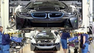 ► The BMW i8 Production(BMW i8 deliveries to customers starting in June. Plug-in hybrid system developed and produced by the BMW Group represents the latest development stage of ..., 2014-06-06T16:32:59.000Z)