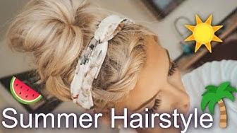 Easy 5 Minuten Sommer Hairstyle ☀️ 🌴💕Hairtutorial / JENNY KÖNIG