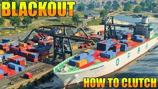 How to Clutch In Blackout // Crazy 1 v 6 Ending // Call of Duty // Black Ops 4 // PS4 Gameplay