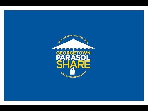 Georgetown BID ParasolShare Program Summer 2016