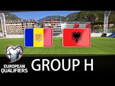 Andorra vs Albania - European Qualifiers - PES 2019
