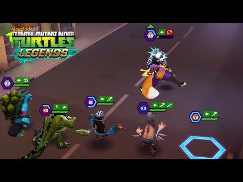 Alopex - Mutanimals VS Shredder - TMNT Legends